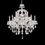 Casablanca Way Two Tier Chandelier