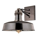 Hudson Falls Wall Light - Distressed Bronze /