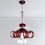 Tiger Lilly Suspension - Chrome / Red