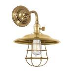 Heirloom MS2-WG Wall Light - Aged Brass /