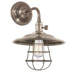 Heirloom MS2-WG Wall Light - Historic Nickel /