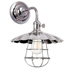 Heirloom MS3-WG Wall Light - Polished Nickel /