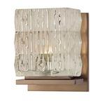 Torrington Bath Bar - Brushed Bronze / Crystal