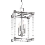 Alpine Chandelier - Polished Nickel /
