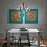 Double Cirque Chandelier -
