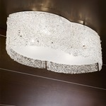 Flow Large Ceiling Flush Mount