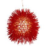 Urchin Mini Pendant - Red /
