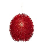 Urchin Pendant - Red /