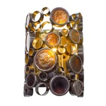 Fascination Outdoor Wall Sconce - Bronze / Amber