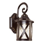 New England Coach Lantern - Rubbed Oil Bronze / Clear