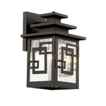 Geo Tempo Wall Lantern