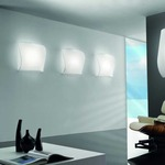 Stormy Wall or Ceiling Light - White / White