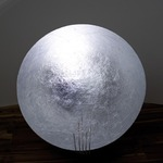 Tekno Moon Floor Lamp - Nickel Plated / Silver