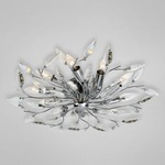Felina Flushmount - Chrome / Crystal