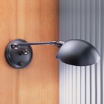 522 Swing Arm Wall Light - Hand Brushed Old Bronze /
