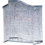 Swizzle Wall Light - Polished Chrome / Clear