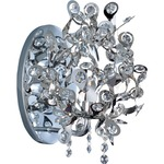 Comet Wall Sconce - Polished Chrome / Crystal