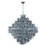 Comet 21 Light Pendant - Polished Chrome / Crystal