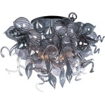 Mimi Semi Flush Mount - Polished Chrome / Fume
