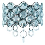 Cirque Wall Sconce - Polished Chrome / Crystal