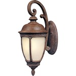 Knob Hill EE Outdoor Wall Light - Sienna / Snow Flake