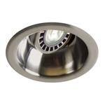 Low Voltage 3.5IN RD Deep Regressed Adjustable Trim - Satin Nickel