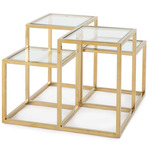 Astoria Side Table - Gold