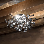 Argent Ceiling Light Fixture - Stainless Steel