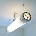 Recycled Tube TL4 Light Pendant - White /