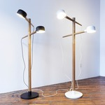 Deadstock Floor Lamp - White /