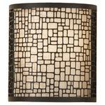 Joplin Wall Sconce - Light Antique Bronze /