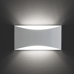 Kelly Wall Sconce - White / White