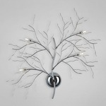 Autumn Wall Sconce - Chrome /