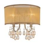 Hampton 2 Wall Light - Antique Brass /