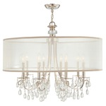 Hampton Chandelier - Polished Chrome /
