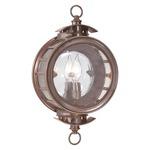 Charleston Lantern - Bronze / Clear