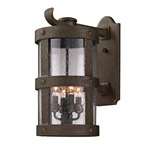 Barbosa Outdoor Wall Sconce - Bronze / Clear