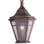 Morgan Hill Outdoor Pocket Lantern - Rust / Clear