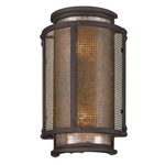 Copper Mountain Outdoor Wall Sconce - Copper / Silver