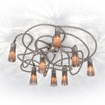 Sultans of Swing Ceiling Lamp - Nickel /