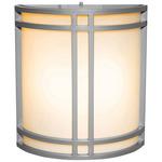 Artemis Outdoor Wall Light - Satin / Opal /
