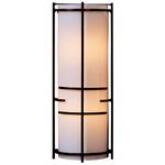Extended Bars Wall Light - Bronze / White Art