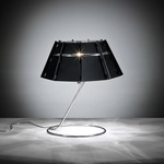 Chapeau Table Lamp - Black / Stainless Steel