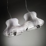 Faretto Double Pendant - White /