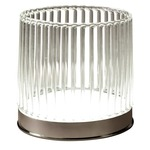 Klint LED Table Lamp - Chrome / Transparent