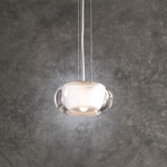 Castille Pendant - Satin Nickel / Clear / Frost
