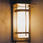 Banded 16 Outdoor Wall Sconce With Top Plate