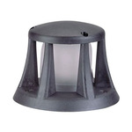 DWCL1 Composite Mini Beacon Bollard - Black / Frosted