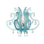 Medusa Wall Sconce -  / Blue Gel