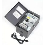 900 Watt 12-15 Volt Multitap Outdoor Transformer - Dark Grey /